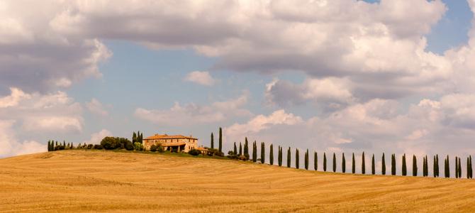 Sehnsuchtsland Toskana