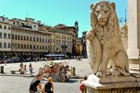 Firenze - Piazza di Santa Croce