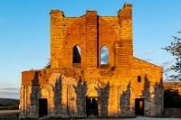 San Galgano - la facciata